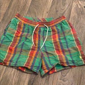 Men's polo Ralph Lauren swim trunks size large
